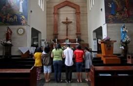 NATAL 2014: Misa di GPIB Imanuel Diikuti 1.200 Orang