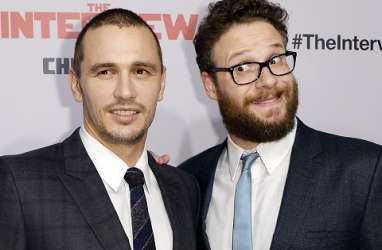 Seth Rogen Rayakan Peluncuran Film The Interview