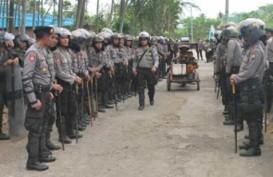 Jelang Malam Tahun Baru, Polisi Siaga di Kawasan Manggarai