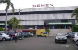 Dibuka, Akses Berbelanja di Penampungan Pedagang Pasar Senen