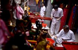 "Ritual  ""Naga Buka Mata"" Awali Perayaan Cap Go Meh di Kalbar"