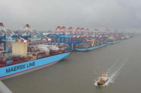 Maersk Waspadai Perang Dagang China-AS