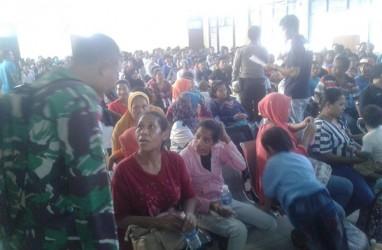 TNI Amankan 205 TKI Ilegal yang Dideportasi Malaysia