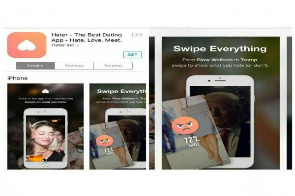 Aplikasi Hater di Apple Store - Istimewa