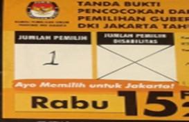 QUICK COUNT PILGUB DKI 2017: Pemungutan Suara Mulai Pk. 07.00 WIB, Presiden Mencoblos di TPS 4 Gambir