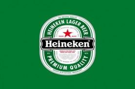 Tahun lalu, Pendapatan Heineken Naik 1,4%