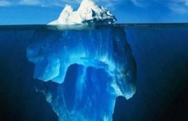 Gunung Es Seluas Manhattan Pecah
