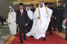 Raja Arab Saudi Tiba di Indonesia, JAS Raup Rp400…
