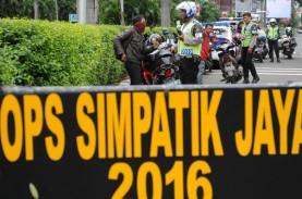 Operasi Simpatik di Jakarta Berlangsung 3 Minggu