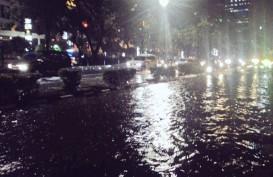 Inilah Titik Lokasi Banjir di Jakarta Malam Ini
