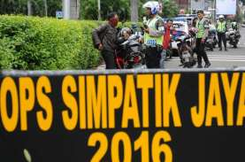 OPERASI SIMPATIK 2017: 4.242 Pelanggaran Lalin Ditindak