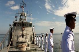 Pasukan Lantamal IV Selamatkan Muka Indonesia