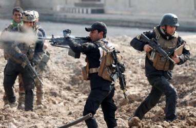 206.520 Orang Dipaksa Tinggalkan Rumah di Mosul