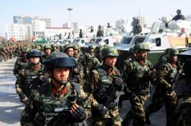 Anggaran Pertahanan China 1,04 Triliun Yuan
