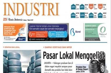 BISNIS INDONESIA Edisi Cetak Selasa, 7 Maret 2017. Seksi Industri