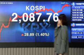Saham Woori Bank Naik Tajam, Indeks Kospi Menguat…