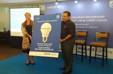 Philips Beri Donasi Rp 2 Miliar untuk Unicef