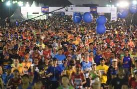 Pelari Internasional Ramaikan Lomba Lari Equator 10 Kilometer