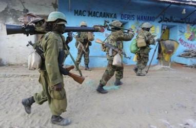 Tentara Somalia Unjuk Rasa Terkait Upah