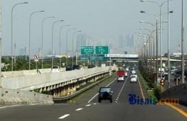 Tol Dalam Kota Jakarta Terpantau Ramai Lancar