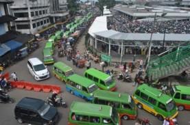 Angkot Mogok Narik, Warga Bogor Telantar