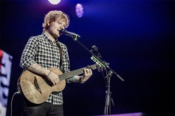 Ed Sheeran - femalefirst.co.uk