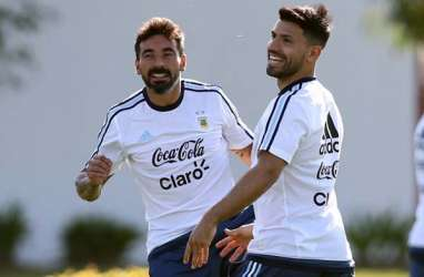 Pra-Piala Dunia 2018: Argentina Turunkan Aguero & Rojo vs Chile