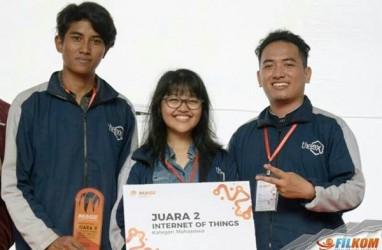 Mahasiswa Filkom UB Buat Monitoring Udara Berbasis Android
