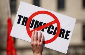 OBAMACARE DIROMBAK: Gelar Unjuk Rasa Kecam Kebijakan Trump