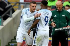 Vardy & Defoe Amankan Inggris di Kualifikasi Piala…