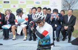 Saleh Husin dan Rachmat Gobel Promosikan Investasi dan Wisata Indonesia via Tur Sepeda di Jepang