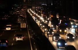 Tol Jakarta-Cikampek, Kendaraan Arah Jakarta  Melonjak