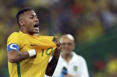 Hasil Pra-Piala Dunia 2018: Brasil Sikat Paraguay, Peru Libas Uruguay