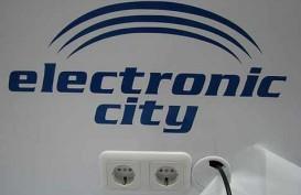 Electronic City (ECII) Catat Rugi Rp32,27 Miliar