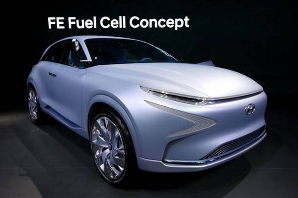 Hyundai FE Fuel Cell Concept SUV - foto: Bloomberg