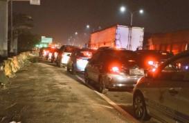Penyempitan Jalan Proyek MRT Lebak Bulus Jaksel Padatkan Lalu Lintas