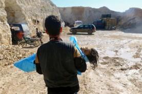 Serangan di Suriah Terindikasi Gunakan Bahan Kimia