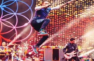 Orang Indonesia Dominasi Konser Coldplay di Bangkok