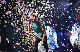 Meriahnya Konser Coldplay di Bangkok
