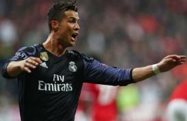 Cristiano Ronaldo Bikin Sejarah Cetak 100 Gol di Kompetisi Eropa