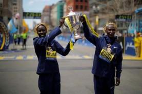 Pelari Kenya Kuasai Boston Marathon