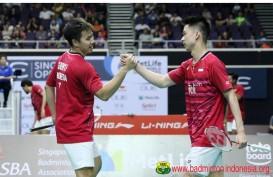 Badminton Asia Championship 2017: Cedera Punggung, Marcus/Kevin Absen