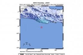 Gempa Tasik Dirasakan Hingga Garut & Bandung