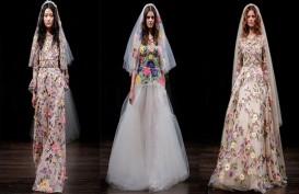 Ini Tren Busana Pengantin dari Bridal Fashion Week 2017