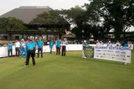 Bisnis Indonesia Gelar Turnamen Golf Perdana di Surabaya