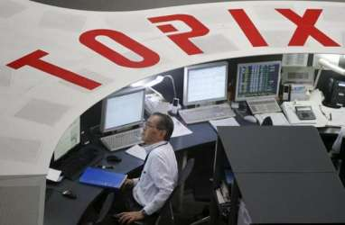 BURSA JEPANG 2 MEI: Jelang Golden Week, Indeks Topix Ditutup Menguat 0,68%