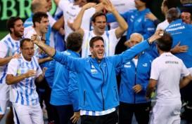 Hasil Tenis Estoril: Del Potro Melaju, Tiga Unggulan Tersingkir