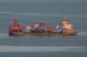 Kapal China Diduga Curi Harta Karun Indonesia