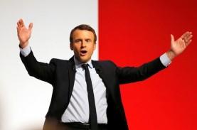 Macron Presiden Prancis Termuda
