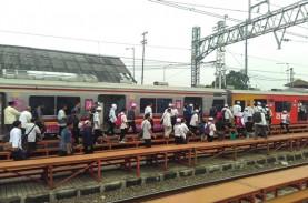 Jumlah Penumpang KRL Commuter Line Capai 1 Juta Orang,…